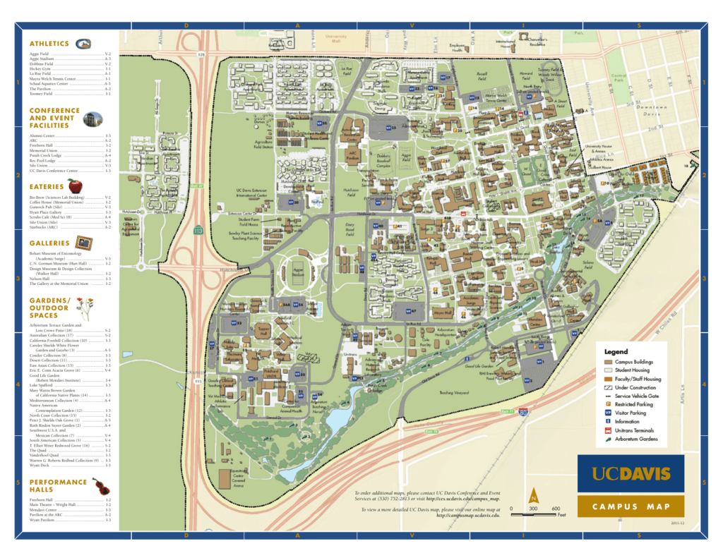 uc davis center campus map Campus Map Uc Davis School Of Veterinary Medicine uc davis center campus map
