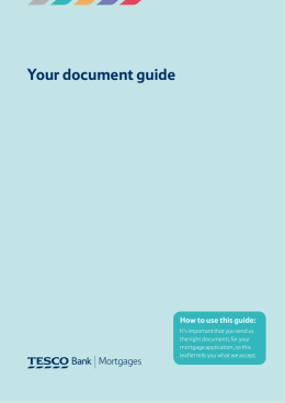 Your document guide