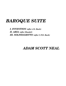 baroque suite - Adam Scott Neal