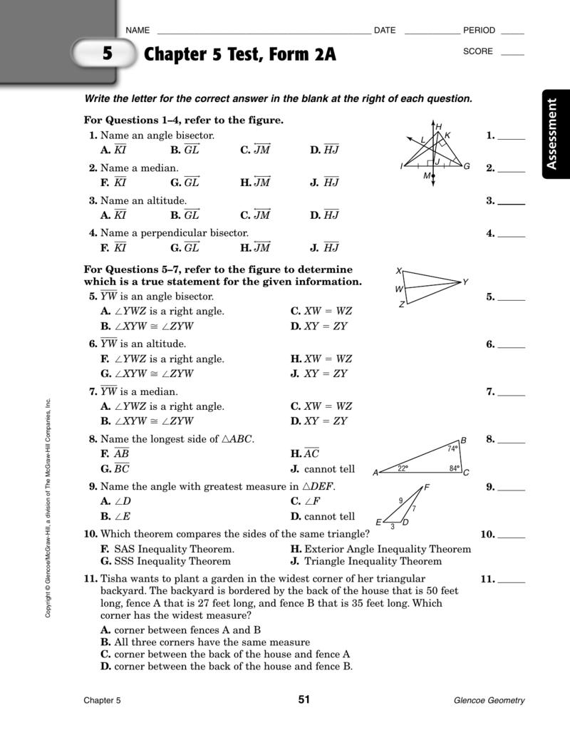 Workbooks mcgraw hill geometry workbook : Glencoe Geometry Worksheet Answers - Super Teacher Worksheets