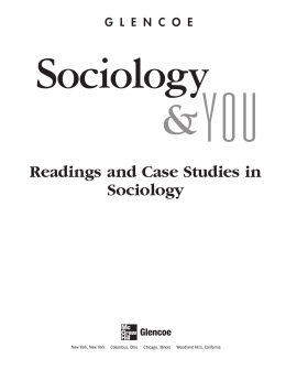 Readings and Case Studies in Sociology