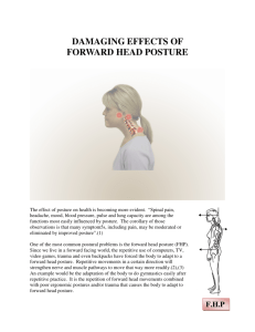 Damaging Effects Of Forward Head Posture (FHP)