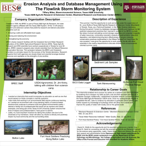 2013 BREC Miles - Department of Plant Pathology and Microbiology