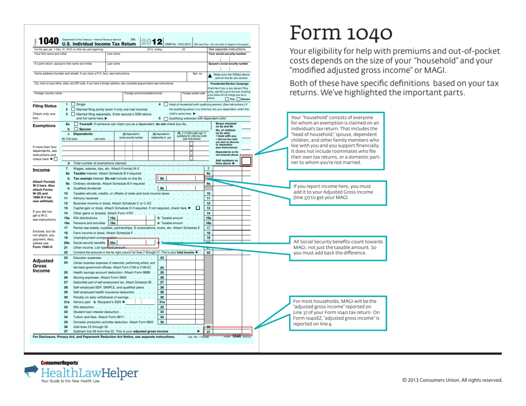 Form 1040 consumer reports online falaconquin