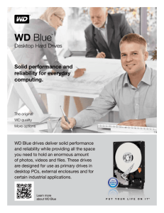 WD Blue™ Desktop Hard Drives - Product Overview