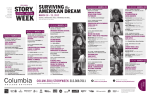 surviving american dream - Columbia College Chicago