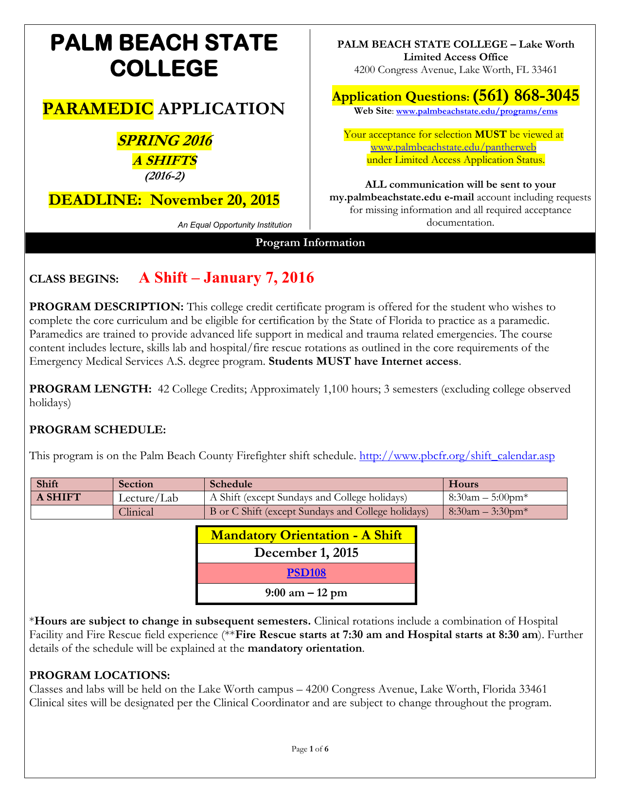 Nursing application palm beach state college xflitez Images