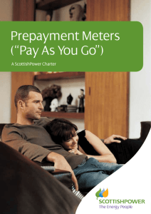 "Prepayment Meters (""Pay As You Go"")"