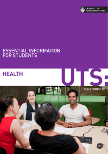 Essential information for health students
