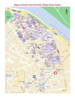 College Avenue Campus - University Maps