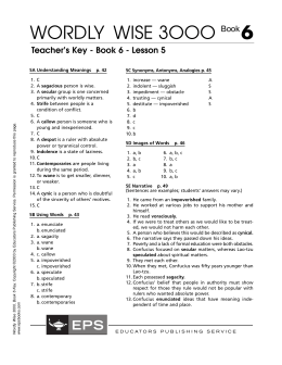 Wordly wise 3000 book 5 lesson 18 pdf