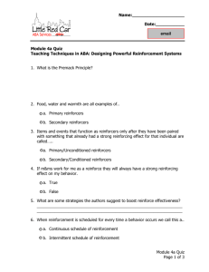 Module 4a Quiz - Little Red Car ABA Services LLC