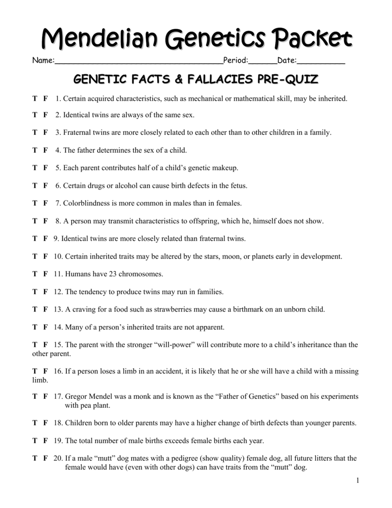 best of mendel genetics worksheet with answers