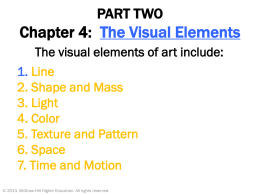Chapter 4: The Visual Elements