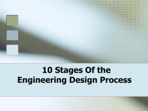 10 Steps Of the Engineering Design Process
