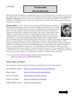 Interpreter of maladies essay introduction