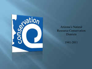 Arizona's Natural Resource Conservation Districts 1941-2011