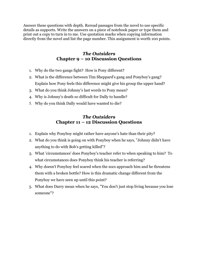 novel essay write compare contrast essay a comparison of the novel  essay questions for the outsiders novel buy a essay for cheap the outsiders multiple choice questions