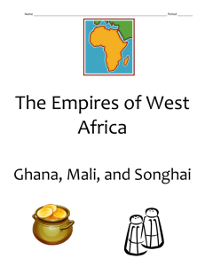 The Empires of West Africa - local.brookings.k12.sd.us