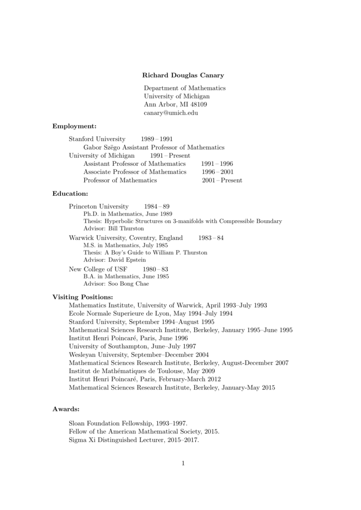 in PDF - University of Michigan