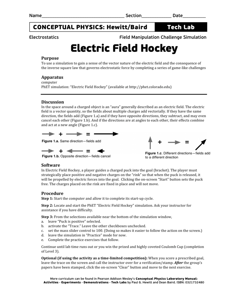 Electric Forces and Fields - Dean Baird's Phyz Home Page