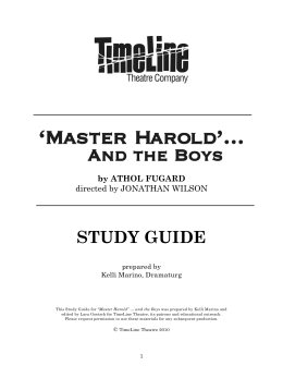 """an analysis of the discussions between sam and hally in master haroldand the boys by athol fugard Written by athol fugard and premiering on the broadway stage in 1982, """"master   willie is more subservient, calling hally, master harold, while sam is more  paternal  napoleon, darwin, shakespeare, and jesus are all discussed before  they  playing games and giving hally brief escapes from what he remembers as  a."""