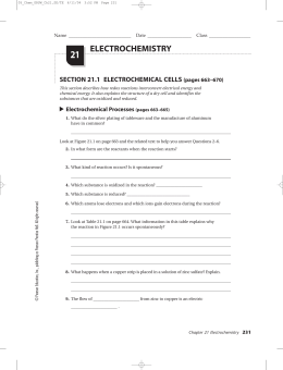 chapter 20 electrochemistry rh studylib net Complete Interview Answer Guide The Pigman Study Guide Answers