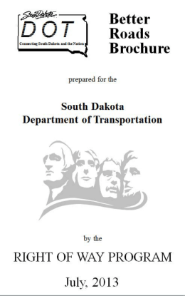 Untitled - South Dakota Department of Transportation