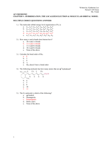 Chapter 9 Answers