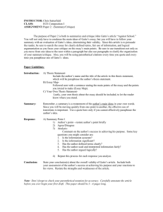Paper 2 Description Sheet