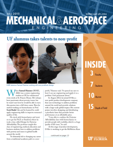 2013 Fall Newsletter - Mechanical and Aerospace Engineering
