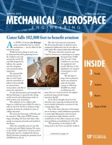 2013 Spring Newsletter - Mechanical and Aerospace Engineering