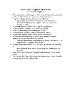 Social Studies-Chapter 5 Study Guide
