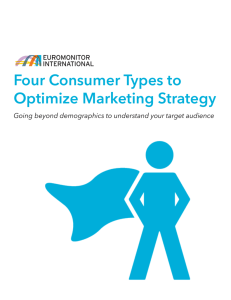 Four Consumer Types to Optimize Marketing Strategy