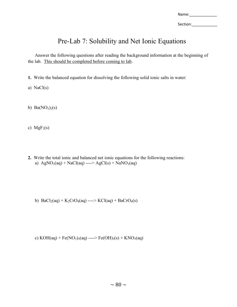 Worksheets Net Ionic Equations Worksheet total and net ionic equations worksheet livinghealthybulletin