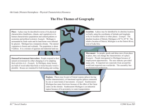 The Five Themes of Geography Resource.indd