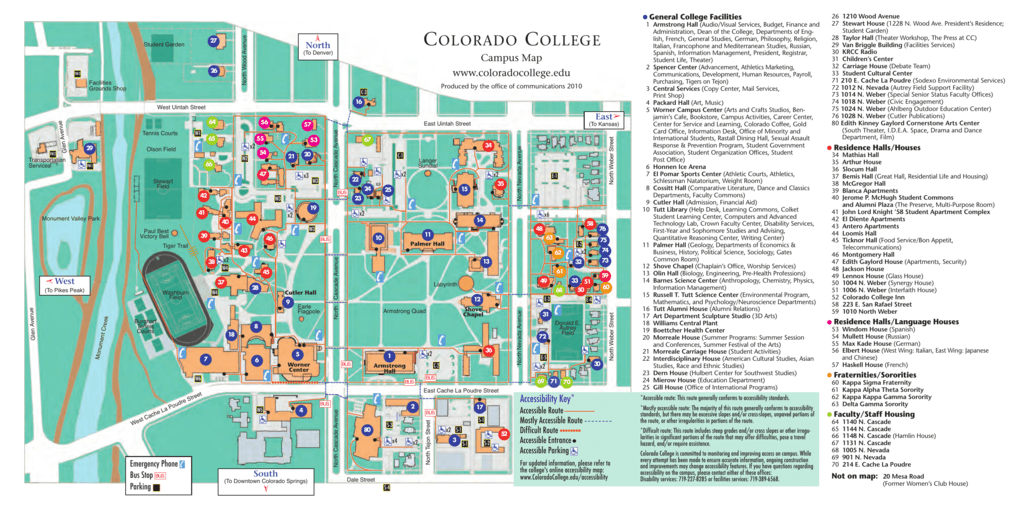 colorado college - El Pomar Foundation