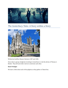 The Canterbury Tales: A Story within a Story