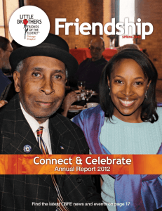 Friendship, FY2012 Annual Report