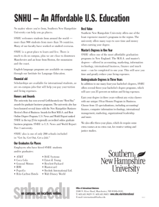 Snhu Academic Calendar.Family Guide 2012 13 Southern New Hampshire University