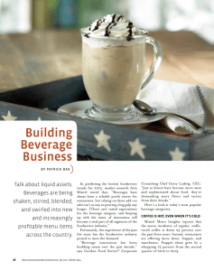 Building Beverage Business