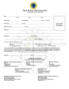 NEC Registration Form