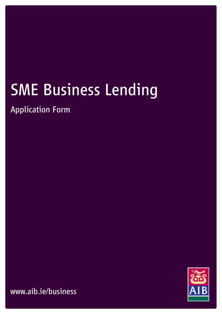 Sme business lending aib reheart Image collections