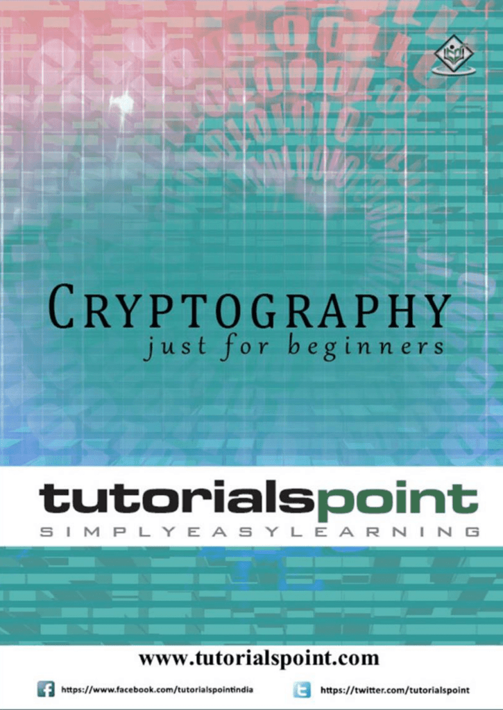 Cryptography Tutorial (PDF Version)