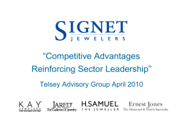 """Competitive Advantages Reinforcing Sector Leadership"""