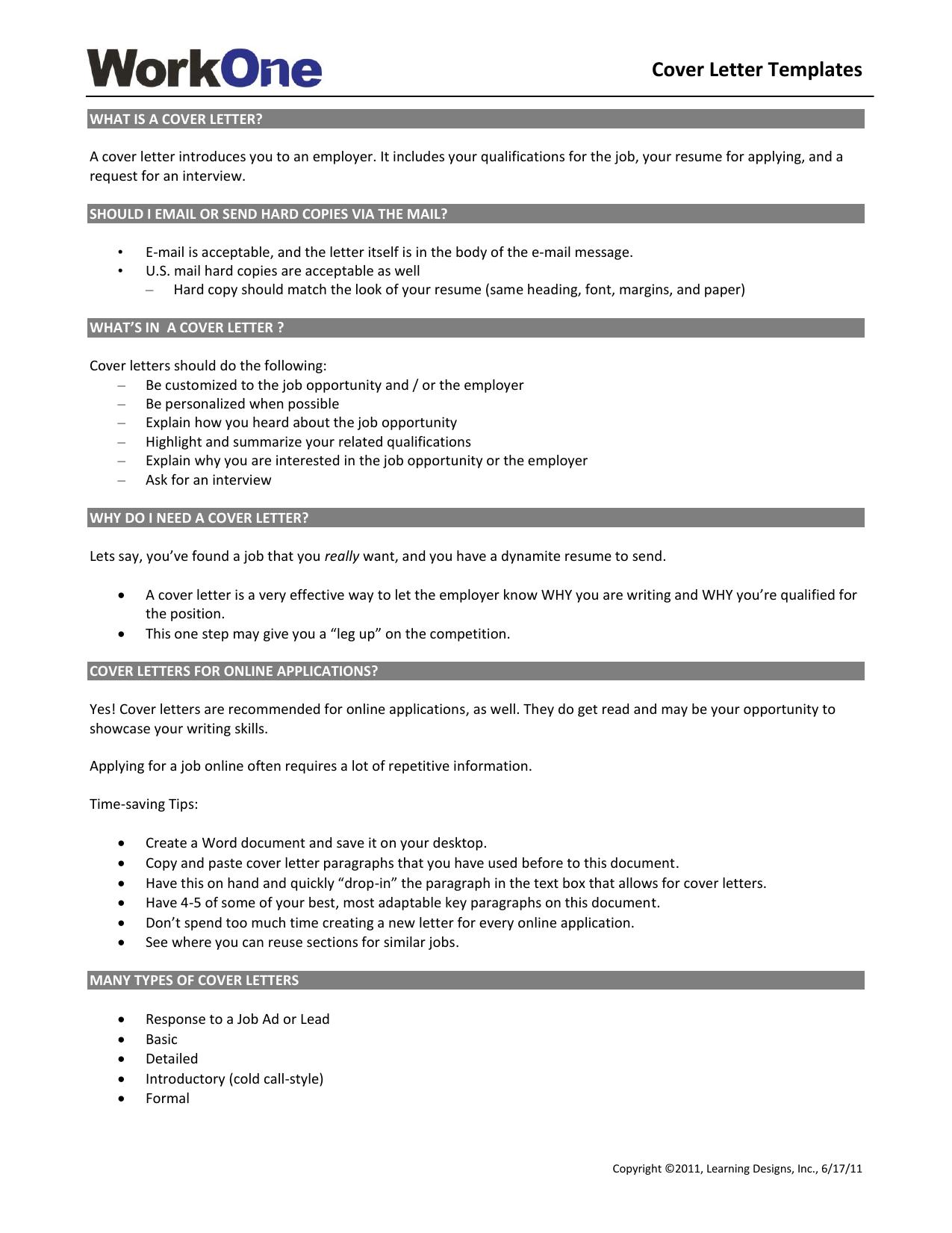 Online Application Cover Letter from s3.studylib.net