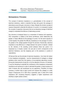 Principles of Electrical Impedance
