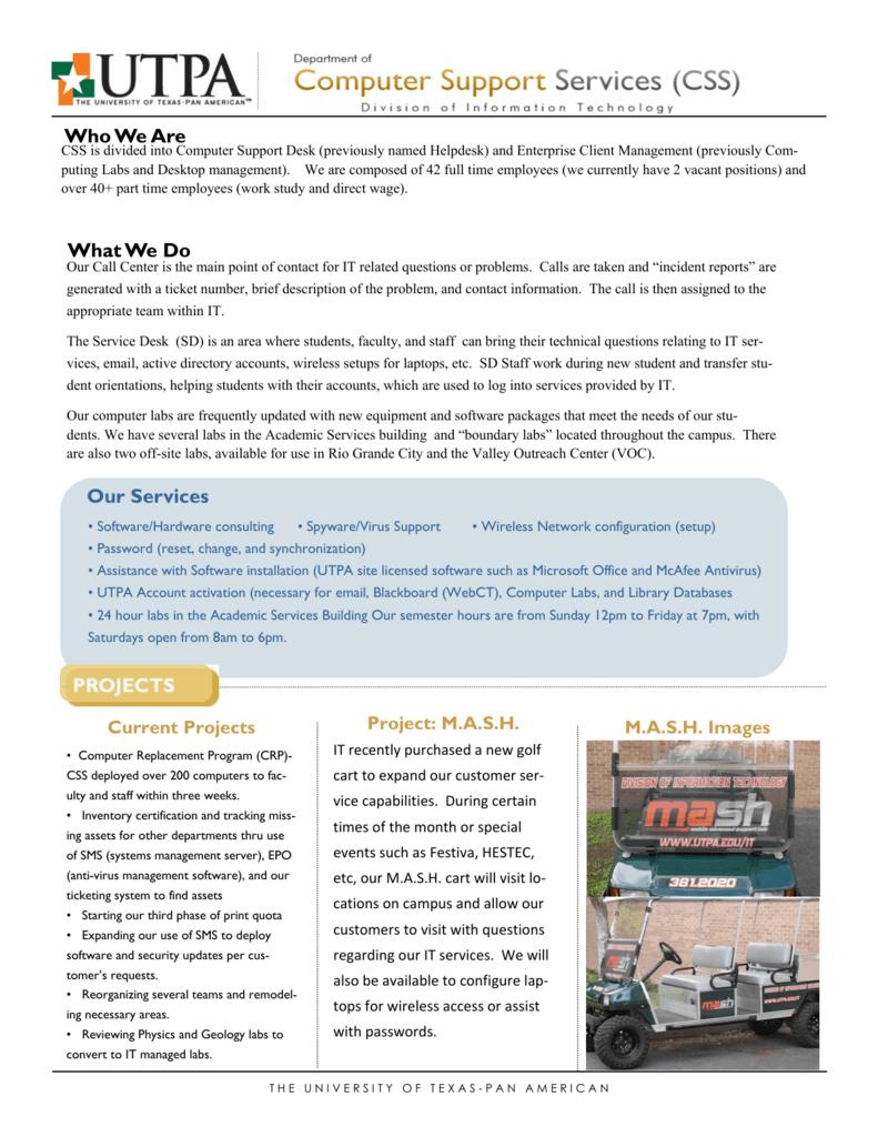 FactSheet - CSS