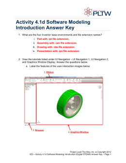 Activity 4.1d Software Modeling Introduction (Digital STEAM) Answer