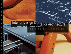 Interior Design & Interior Architecture
